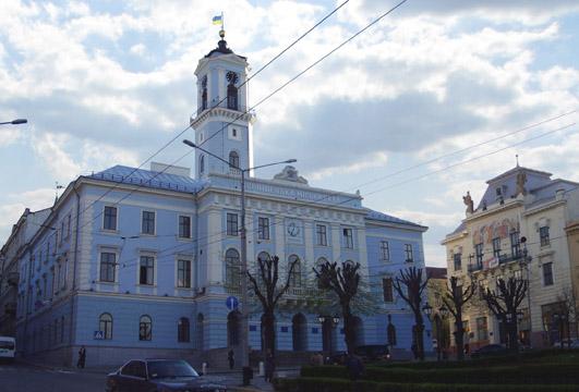 Міська ратуша Чернівці